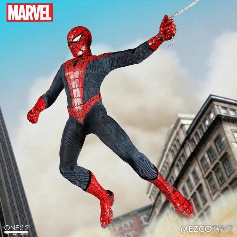 【在庫品】【メズコトイズ】 【送料無料】ワン12コレクティブ/ マーベルユニバース: スパイダーマン 1/12 アクションフィギュア