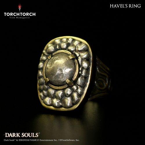 【在庫品】【TORCH TORCH】 ダークソウル × TORCH TORCH/ リングコレクション: ハベルの指輪 メンズS/17号