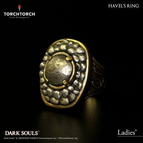 【在庫品】【TORCH TORCH】 ダークソウル × TORCH TORCH/ リングコレクション: ハベルの指輪 レディース/9号