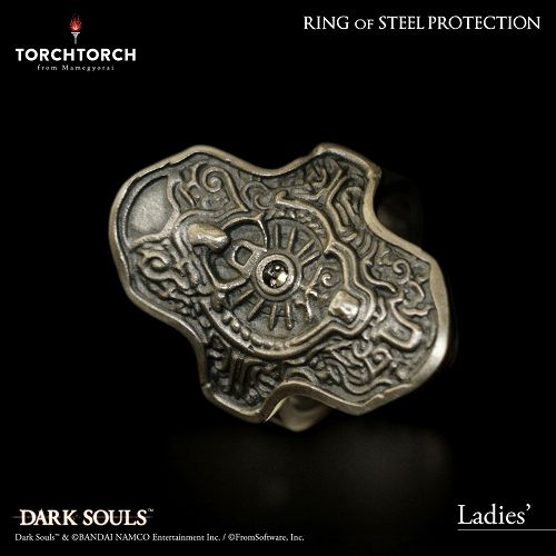 【在庫品】【TORCH TORCH】 ダークソウル × TORCH TORCH/ リングコレクション: 鉄の加護の指輪 レディース/9号