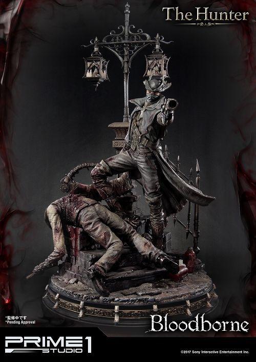 【在庫品】【プライム1スタジオ】 【送料無料】アルティメットプレミアムマスターライン/ Bloodborne ブラッドボーン: 狩人 ハンター 1/4 スタチュー UPMBB-02