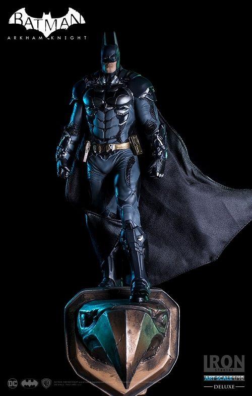 【アイアンスタジオ】バットマン アーカム・ナイト/ バットマン デラックス 1/10 アートスケール スタチュー