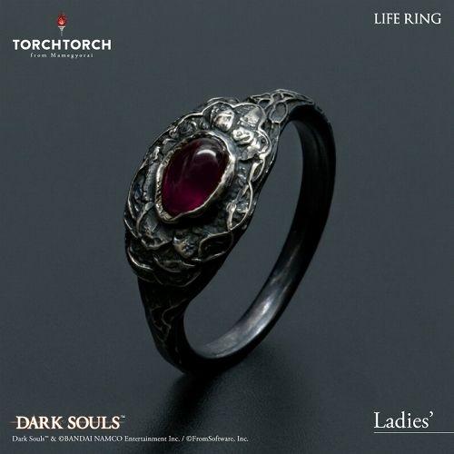 【在庫品】【TORCH TORCH】 ダークソウル × TORCHTORCH/ リングコレクション: 生命の指輪 レディースS/9号