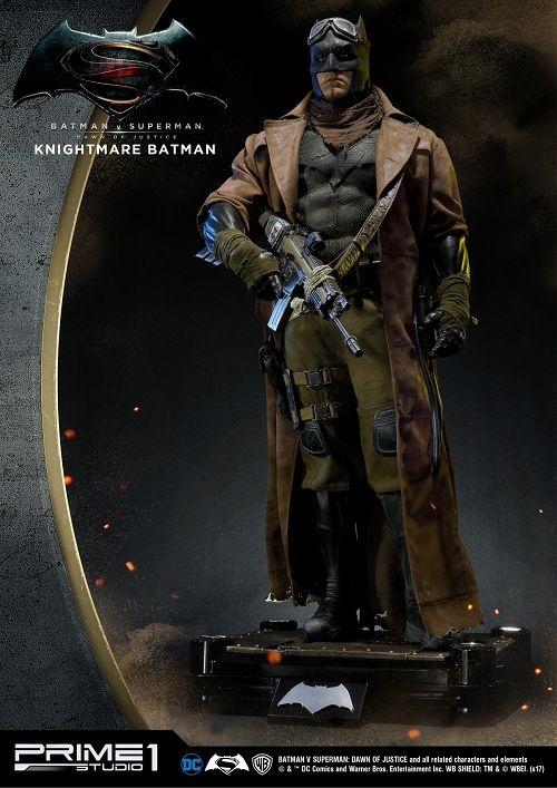 【予約商品】【プライム1スタジオ】 【内金確認後のご予約確定】【送料無料】HDミュージアムマスターライン/ バットマン vs スーパーマン ジャスティスの誕生: ナイトメア・バットマン 1/2 スタチュー HDMMDC-07