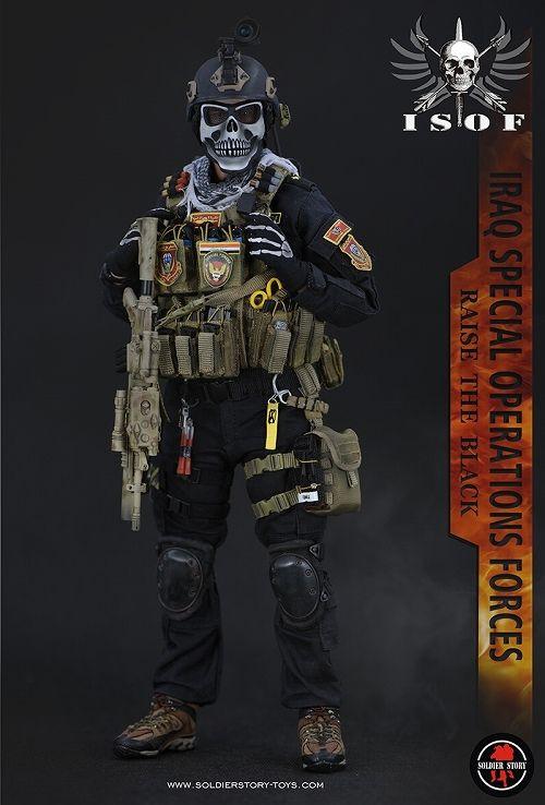 【在庫品】【ソルジャーストーリー】 ISOF イラク特殊作戦部隊 1/6 アクションフィギュア SS105
