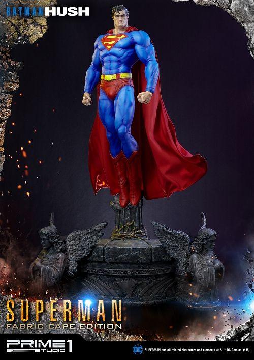 【予約商品】【プライム1スタジオ】 【内金確認後のご予約確定】【送料無料】ミュージアムマスターライン/ バットマン ハッシュ: スーパーマン マントファブリック 1/3 スタチュー MMDCBH-02F
