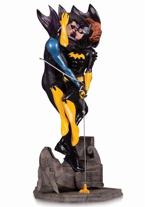 【予約商品】【DCコレクタブルズ】 DCコミックス デザイナーシリーズ/ ライアン・ソック ナイトウィング&バットガール スタチュー