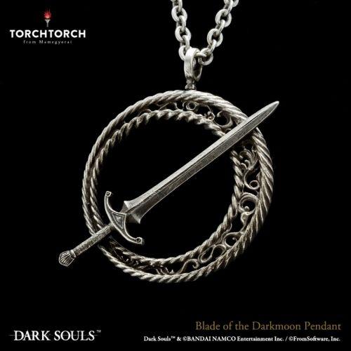 【在庫品】【TORCH TORCH】 ダークソウル × TORCH TORCH/ 暗月の剣のペンダント
