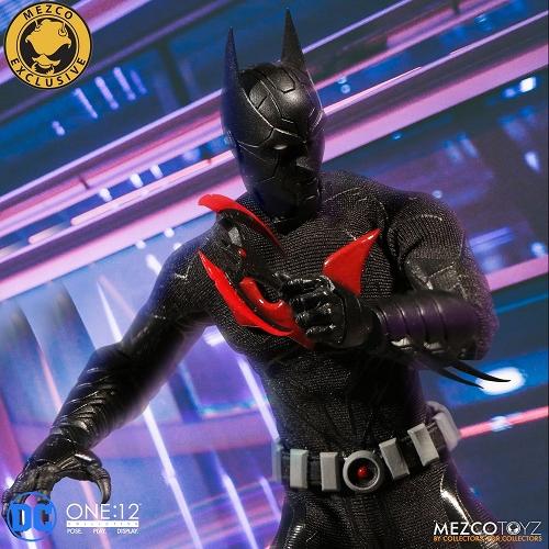 【在庫品】【メズコトイズ】 【SDCC2018 コミコン限定】ワン12コレクティブ/ バットマン・ザ・フューチャー: バットマン ビヨンド 1/12 アクションフィギュア