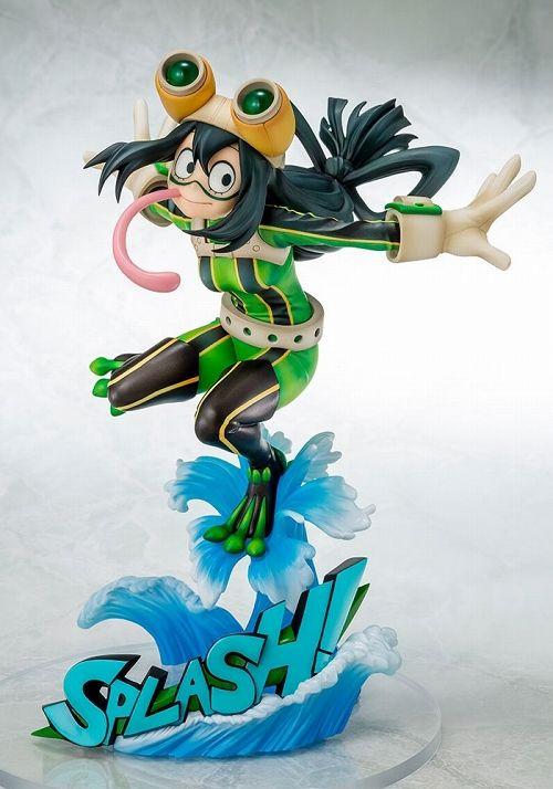 【予約商品】【ベルファイン】 僕のヒーローアカデミア/ 蛙吹梅雨 1/8 PVC ヒーロースーツ ver