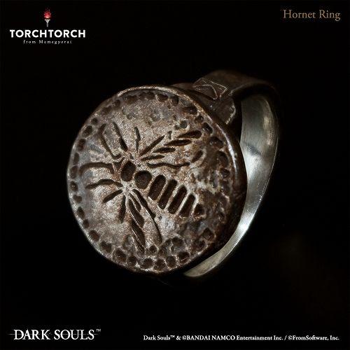 【予約商品】【TORCH TORCH】 ダークソウル × TORCH TORCH/ リングコレクション: スズメバチの指輪 【メンズモデル/19号】