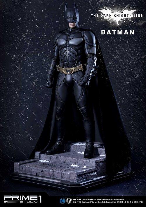 【予約商品】【プライム1スタジオ】 【内金確認後のご予約確定】【送料無料】ミュージアムマスターライン/ バットマン ダークナイト・ライジング: バットマン 1/3 スタチュー MMTDKR-02