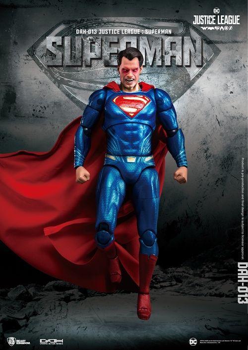 【予約商品】【ビーストキングダム】 ダイナミックアクションヒーローズ/ ジャスティス・リーグ: スーパーマン 1/9 アクションフィギュア
