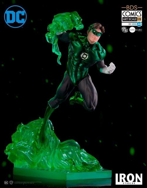 【予約商品】【アイアンスタジオ】 DCコミックス/ グリーンランタン 1/10 バトルジオラマシリーズ アートスケール スタチュー