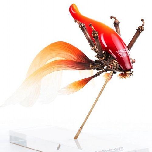 【予約商品】【Sum-Art】 【国内限定流通】クラシウス アウラートゥス by 松岡ミチヒロ スタチュー 紅色 ver