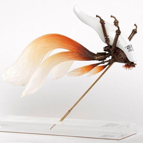 【予約商品】【Sum-Art】 【国内限定流通】クラシウス アウラートゥス by 松岡ミチヒロ スタチュー 白色 ver
