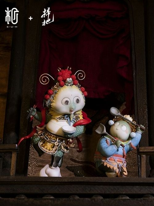 【予約商品】【Sum-Art】 【国内限定流通】谷主 覇王別姫 by 掃把 PVCスタチュー