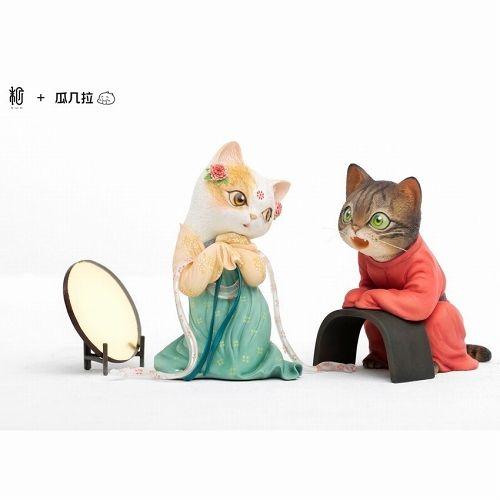 【予約商品】【Sum-Art】 【国内限定流通】画猫 夢唐之紅線 by 瓜几拉 PVCスタチュー