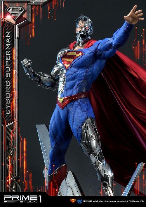 【予約商品】【プライム1スタジオ】 【内金確認後のご予約確定】【送料無料】ミュージアムマスターライン/ SUPERMAN: サイボーグ・スーパーマン 1/3 スタチュー MMDC-32
