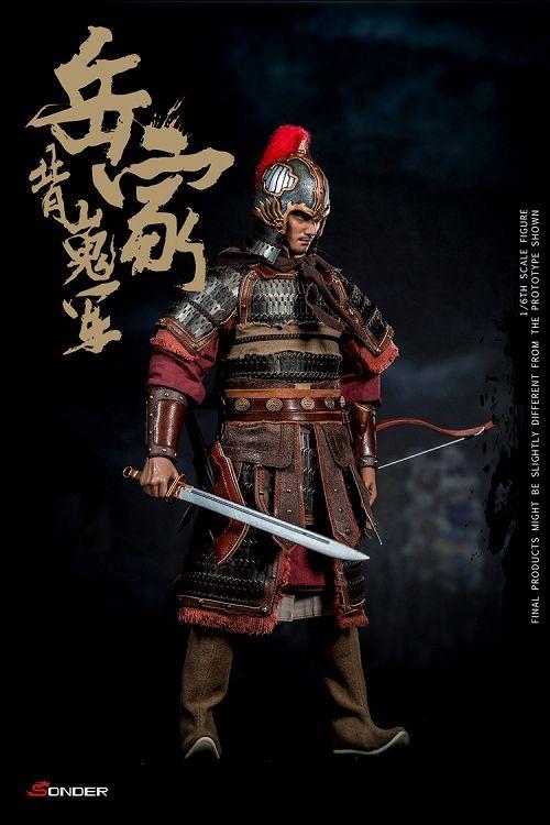 【予約商品】【ソンダー】 宋王朝 岳家軍 兵士 1/6 アクションフィギュア SD003