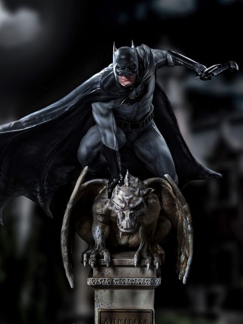 【在庫品】【アイアンスタジオ】 DCコミックス/ バットマン 1/10 DX アートスケール スタチュー