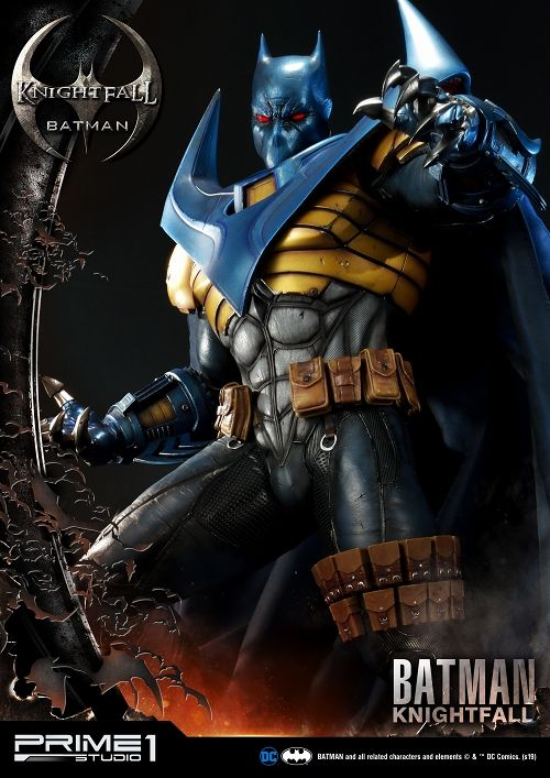 【予約商品】【プライム1スタジオ】 【内金確認後のご予約確定】【送料無料】ミュージアムマスターライン/ BATMAN KNIGHTFALL: バットマン ナイトフォール 1/3 スタチュー MMDC-34