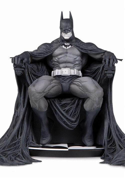 【予約商品】【DCコレクタブルズ】 バットマン/ バットマン ブラック&ホワイト スタチュー マーク・シルベストリ ver