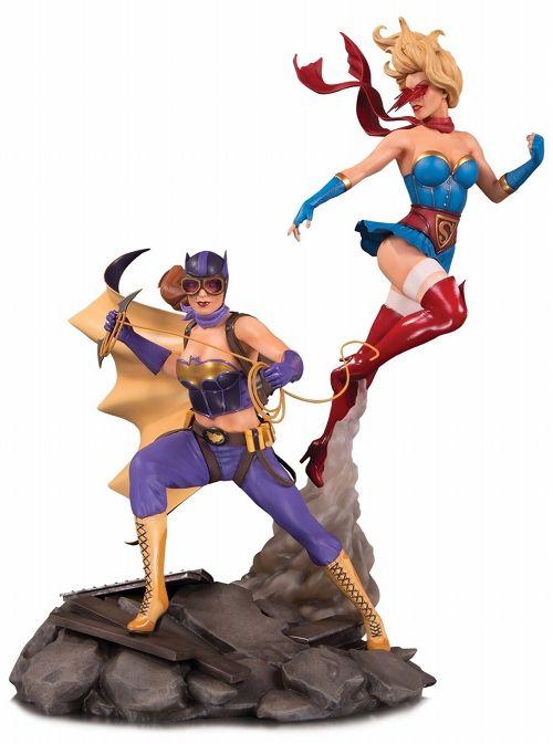 【予約商品】【DCコレクタブルズ】 DCコミックス ボムシェルズ/ バットガール&スーパーガール スタチュー セレブレーション ver