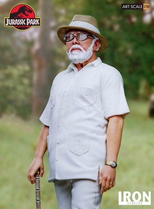 【予約商品】【アイアンスタジオ】 ジュラシック・パーク/ ジョン・ハモンド 1/10 アートスケール スタチュー