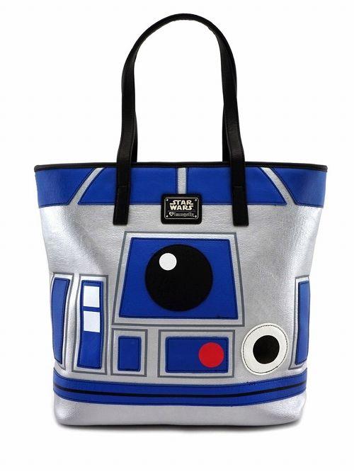 【在庫品/即発送】ラウンジフライ スターウォーズ トートバッグ BB-8&R2-D2