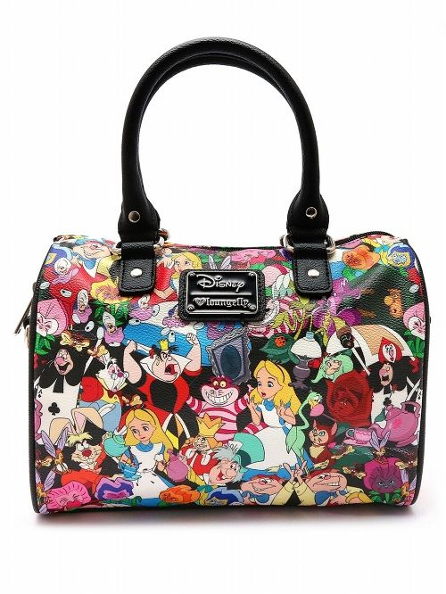 【在庫品/即発送】ラウンジフライ ディズニー ハンドバッグ ふしぎの国のアリス アリス かばん ボストンバッグ