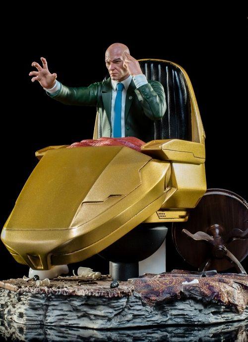 【予約商品】【アイアンスタジオ】 マーベルコミック/ X-MEN プロフェッサーX 1/10 バトルジオラマシリーズ アートスケール スタチュー