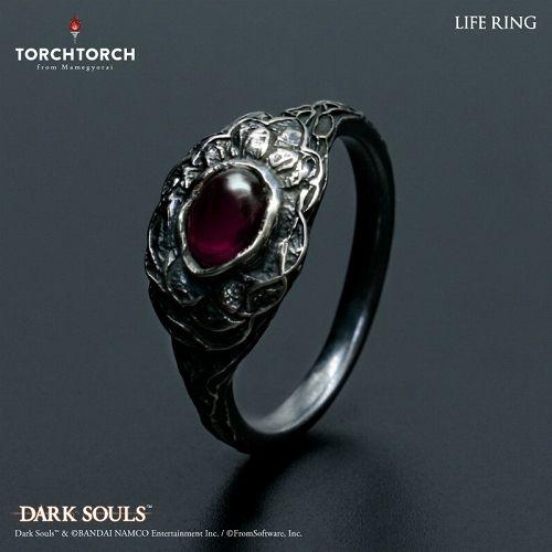【在庫品】【TORCH TORCH】 ダークソウル × TORCHTORCH/ リングコレクション: 生命の指輪 メンズXL/23号