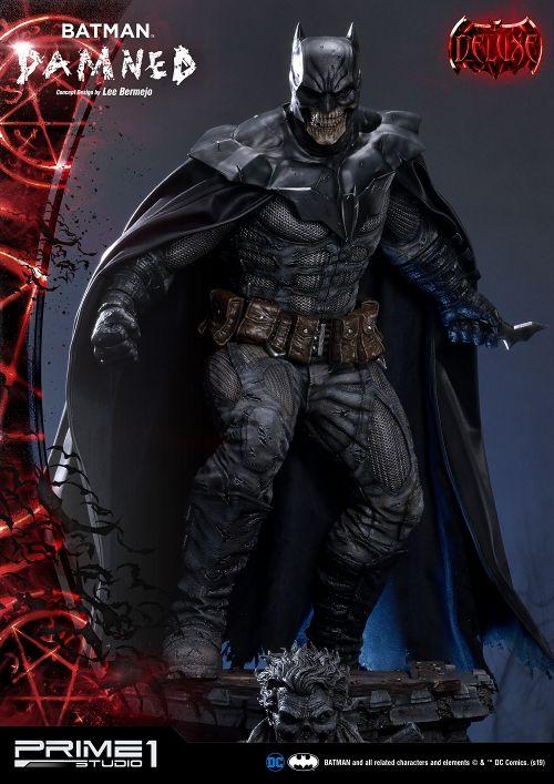 【予約商品】【プライム1スタジオ】 【内金確認後のご予約確定】【送料無料】ミュージアムマスターライン/ BATMAN DAMNED: バットマン 1/3 DX スタチュー MMDC-39DX