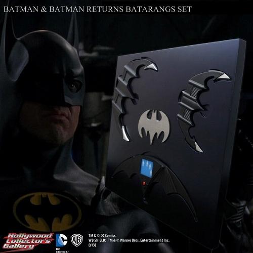 【在庫品】【スタイルオンビデオ】 【再入荷】バットマン&バットマン リターンズ/ バットラング 1/1 プロップレプリカ セット