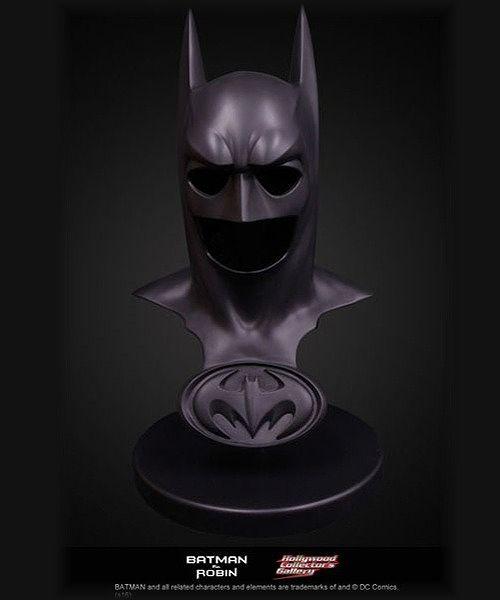 【在庫品】【スタイルオンビデオ】 【再入荷】バットマン&ロビン Mr.フリーズの逆襲/ バットマン バットカウル ブラック 1/1スケール プロップレプリカ