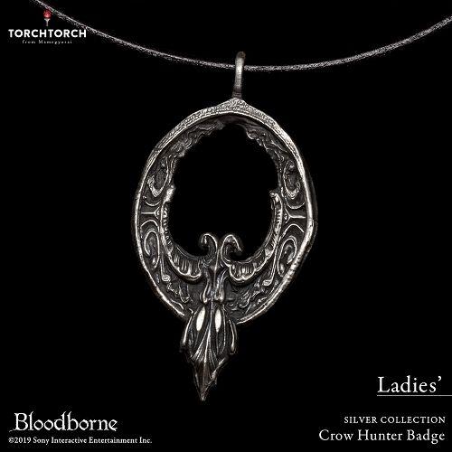 【予約商品】【TORCH TORCH】 Bloodborne × TORCH TORCH/ シルバーコレクション: 鴉の狩人証 レディースモデル