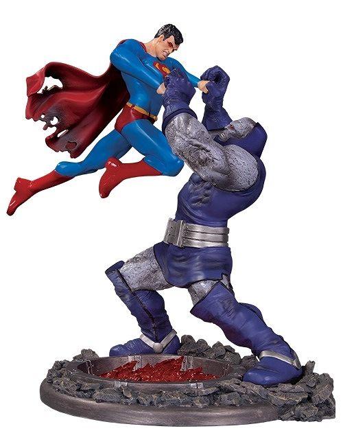 【予約商品】【DCコレクタブルズ】 スーパーマン/ スーパーマン vs ダークサイド スタチュー ver.3