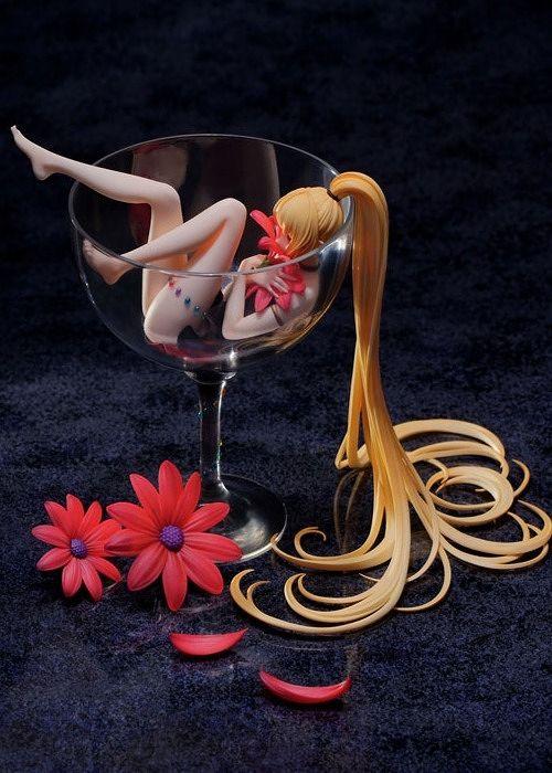 【予約商品】【Ribose 核糖文化】 グラスの少女 Lily Wine by Ask 1/8 PVCスタチュー