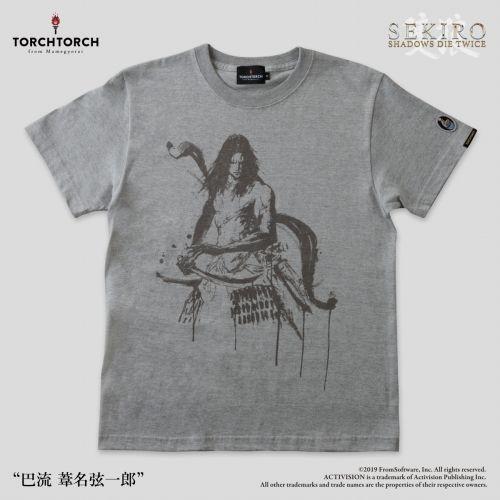 在庫品 TORCH SEKIRO: SHADOWS DIE TWICE 今だけ限定15%OFFクーポン発行中 Tシャツコレクション: 杢灰 葦名弦一郎 × 2020春夏新作 巴流 XXLサイズ