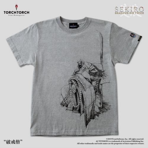 在庫品 TORCH SEKIRO: SHADOWS 直営店 DIE TWICE XLサイズ × Tシャツコレクション: 新作多数 杢灰 破戒僧