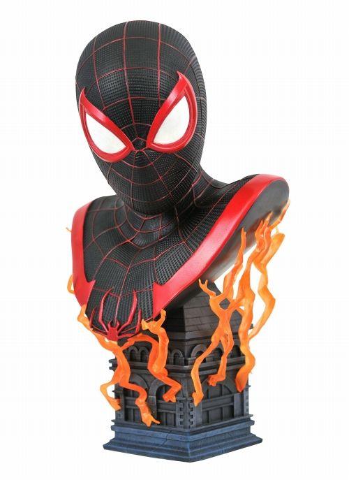 予約商品 ダイアモンドセレクトトイ ランキングTOP10 3Dレジェンズ Marvel's Spider-Man 迅速な対応で商品をお届け致します Morales: バスト モラレス マイルス Miles