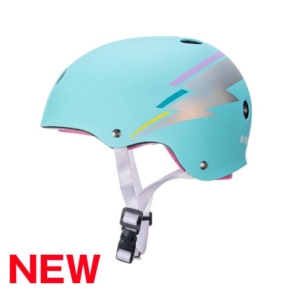 トリプルエイト【サーティファイド:XS/S(51cm~54cm)/ティールホログラム】 ストライダー 自転車 子供用 ヘルメット キッズ