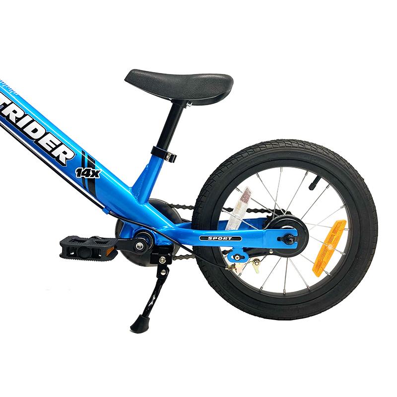 14xを自転車のようにラクラク駐輪 ストライダー 14x 専用キックスタンド※12インチストライダー非対応(スポーツモデルやクラシックモデルなどには取付できません)