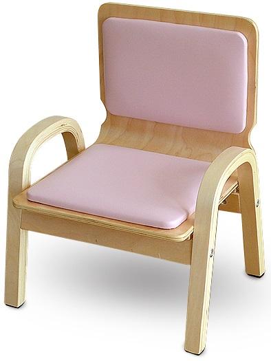 ベビーチェア ダイニングチェアー キッズチェアー 木製子供椅子 子供チェア 木製チェア キッズチェア PVCチェア 子ども椅子  MAMENCHI 木製ふんわりキッズチェア PVCチェア 組立済 ピンクスタッキングチェア 木製イス 幼児イス 子ども用椅子 子ども用イス 木製イス 子供椅子 ローチェア ベビーチェア