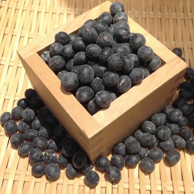 【ゆうパケット 送料無料】2L 900g 兵庫県産丹波黒豆 新豆令和1年産 煮豆レシピ付き