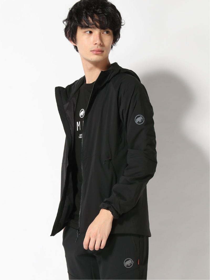 MAMMUT メンズ コート ジャケット 待望 マムート M Alpha IN 35%OFF Hooded Jacket AF ブラック ショートコート カーキ ネイビー Men Rakuten Fashion 送料無料