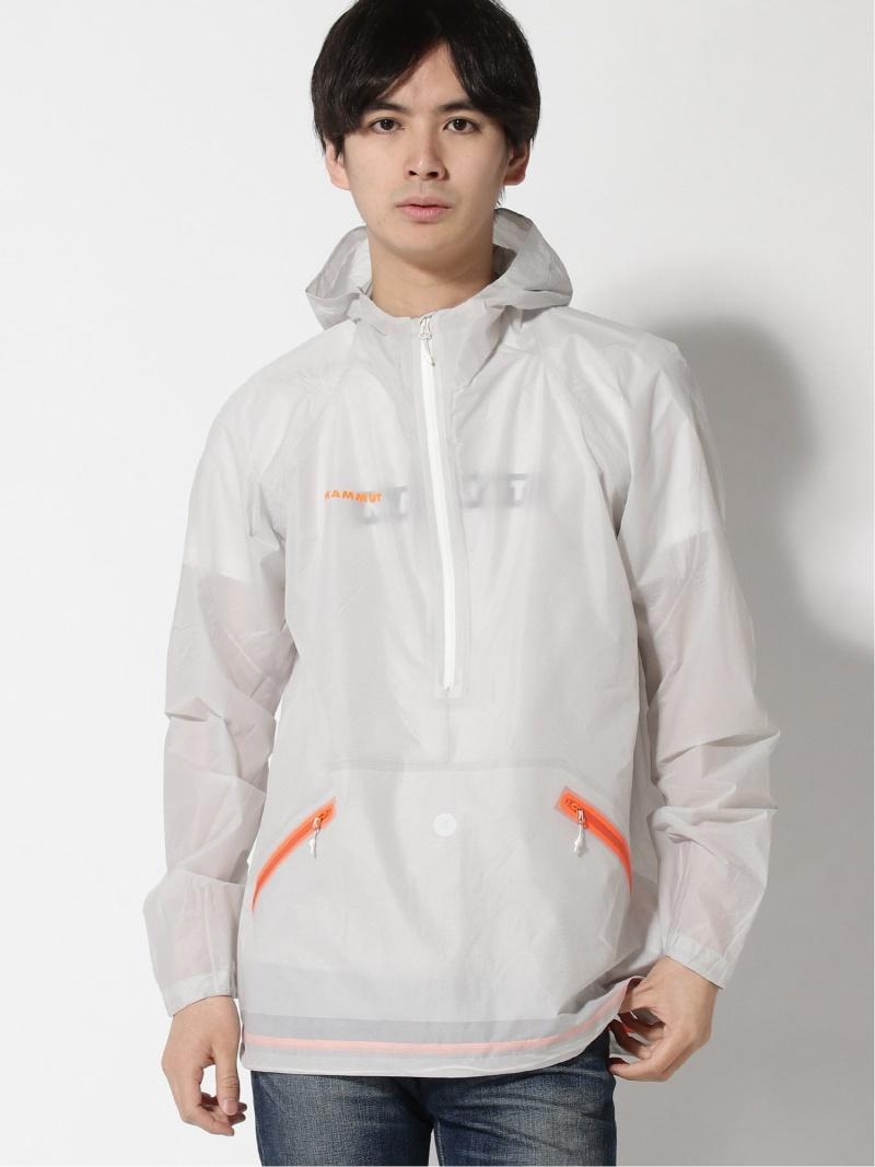 [ Fashion]MAMMUT/(M)Skytree HS Half Zip Hooded Jacket Men MAMMUT マムート コート/ジャケット ナイロンジャケット ホワイト【送料無料】