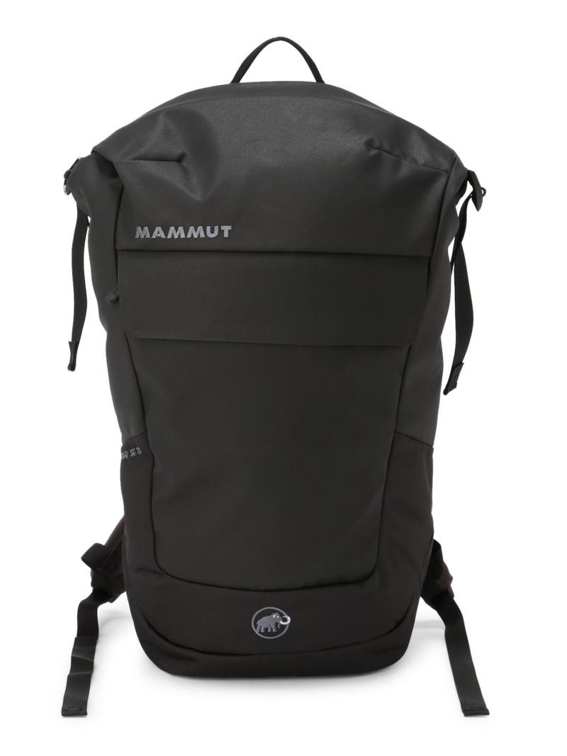 MAMMUT ユニセックス 売買 バッグ マムート 日本最大級の品揃え SALE 20%OFF U Rock Courier バックパック SE 20 RBA_E リュック Rakuten 送料無料 Fashion ブラック