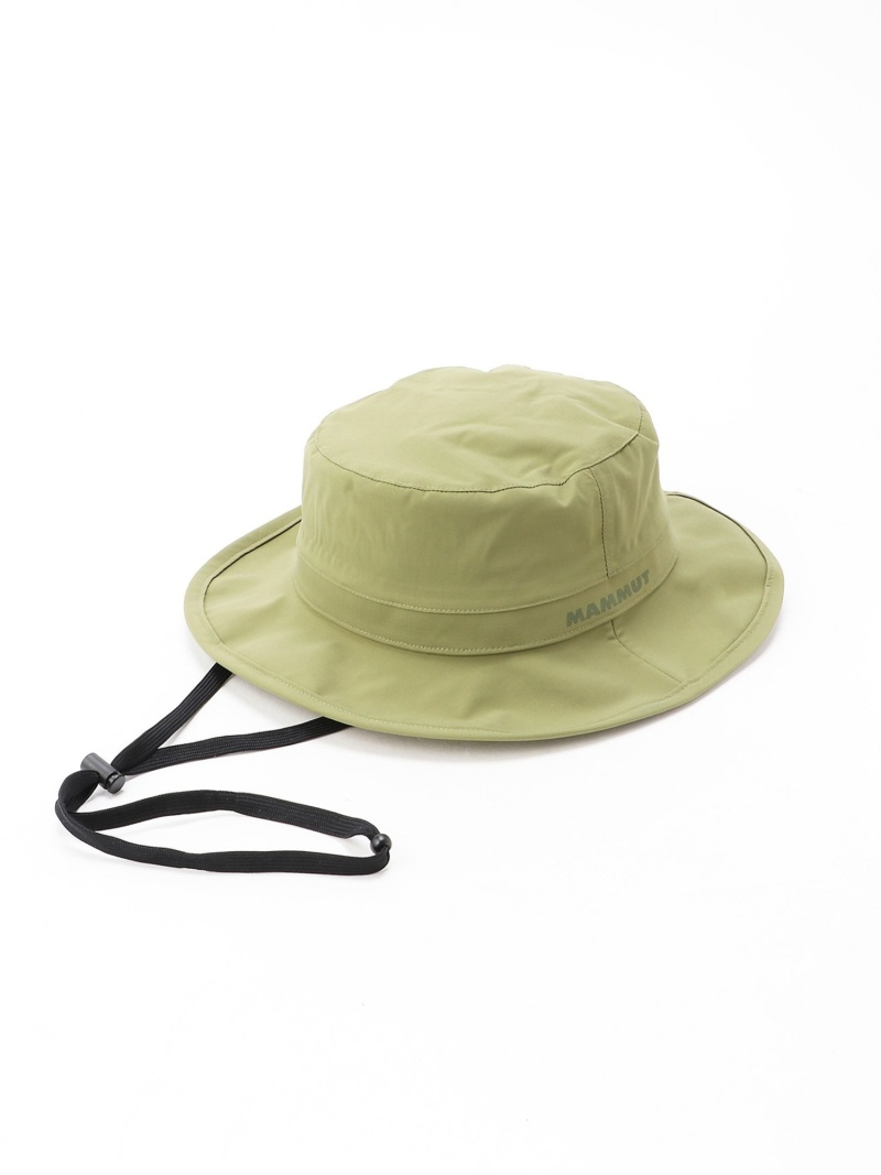 MAMMUT ユニセックス 爆買い送料無料 激安卸販売新品 帽子 ヘア小物 マムート SALE 20%OFF U Machu Rakuten 送料無料 カーキ RBA_E ブラック Hat ハット Fashion